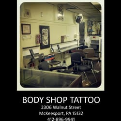Body shop tattoo mckeesport for Tattoo shops in pittsburgh pa