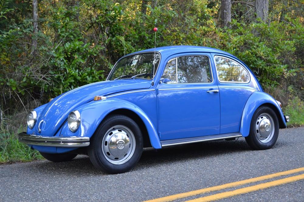 My '68 VW Beetle sparkles!! | Yelp