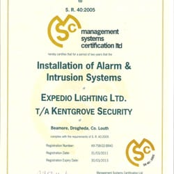 Kentgrove Security, Drogheda, Co. Louth, Ireland