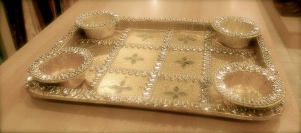 Mehndi Party Trays : Mehndi trays yelp