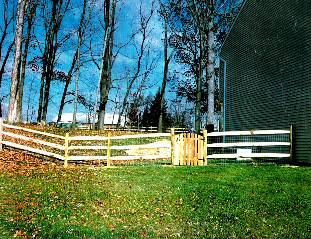split rail fence with wire mesh - 28 images - wood fencing gallery ...