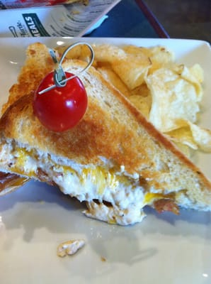 Crabby Melt- Crab dip, bacon, cheese and tomato. | Yelp