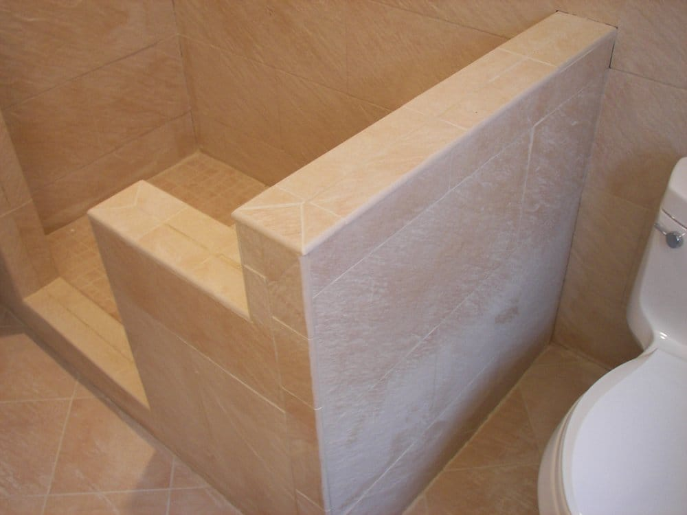 Tile Bench Seat In Shower Yelp