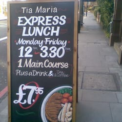 Tia Maria Restaurant & Music Bar, London
