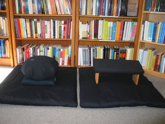 We have zafus, support cushions, zabutons and a range of different