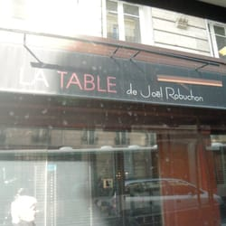 La Table de Joël Robuchon, Paris