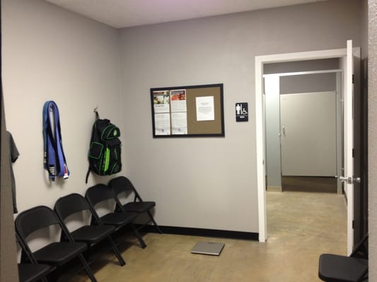 Men's locker room and men's bathrooms. | Yelp