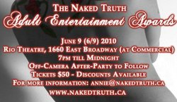 The Naked Truth Adult Entertainment Awards - Vancouver