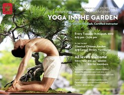 Yoga in the Garden with Gabriel Shamash #3