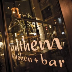 Anthem Kitchen And Bar Faneuil Hall Boston Ma