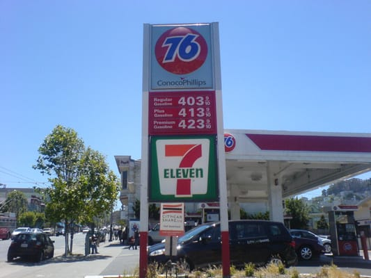 Gas Station Prices Near Me >> 76 Gas Station - Gas & Service Stations - Bernal Heights - San Francisco, CA - Reviews - Photos ...