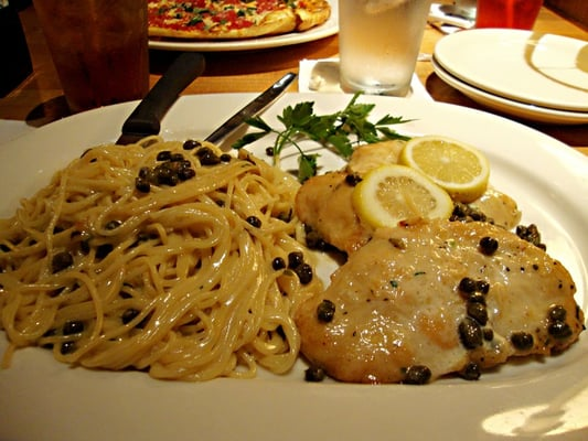 Chicken Piccata California Pizza Kitchen