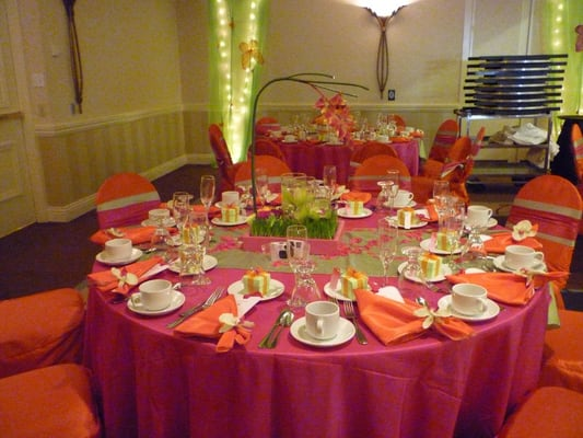 Quinceanera decor summer