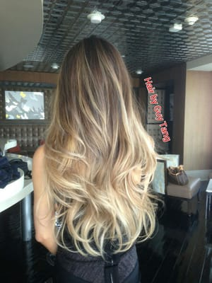 Ombre Hair Again A Little Blonde Ambition
