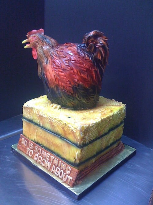 Rooster Theme Cake For 5oth Birthday Yelp