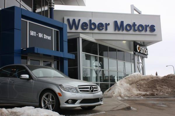 Used Car Lots Edmonton: Weber Motors Mercedes Benz