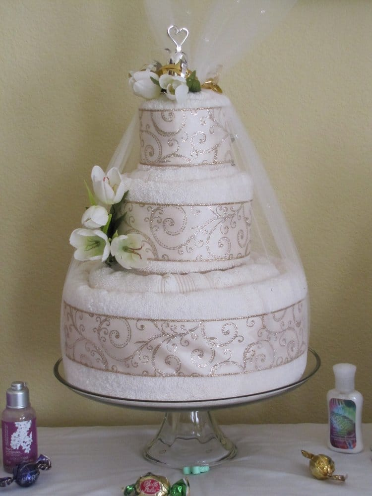towel wedding cakes luxury wedding towel cake our most popular wedding towel 21113