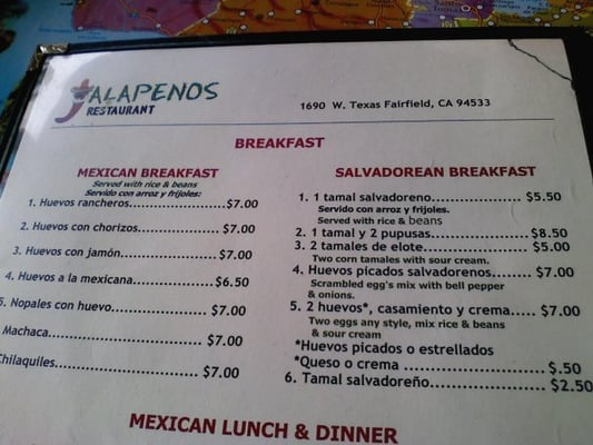 Mexican Breakfast Menu Pictures to Pin on Pinterest ...