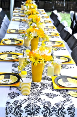 Bumble Bee Baby Shower Table Design Yelp