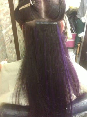 Platinum Seamless Tape Hair Extensions 7