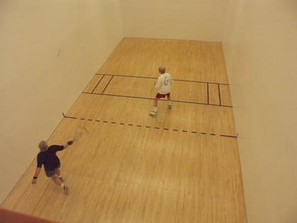 8 Indoor Racquetball Courts With Evening League Play And