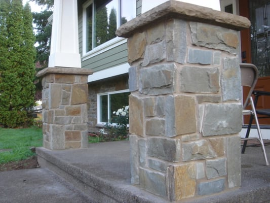 Stone Columns West Linn Natural Stone Portland