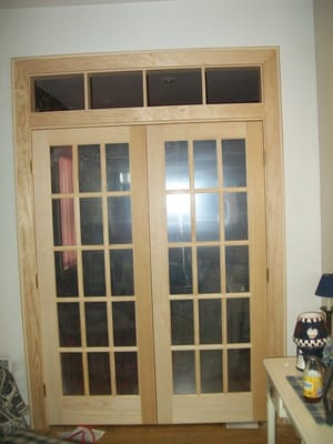 French Doors Amp Custom Interior Window Yelp
