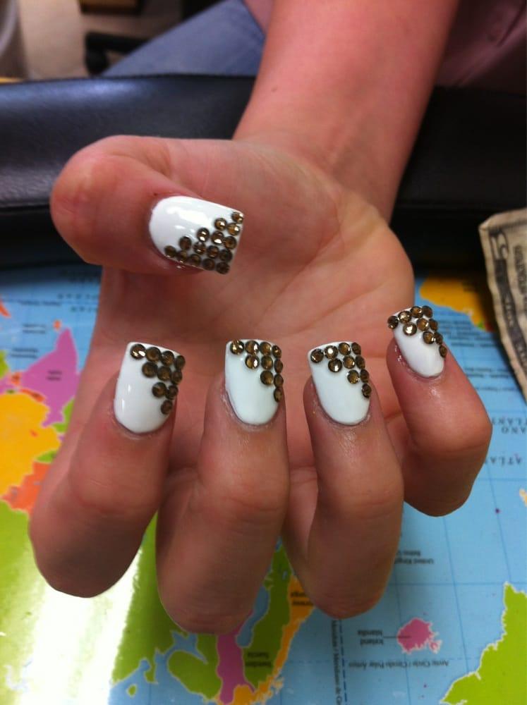 Photos For Blue Diamond Nails