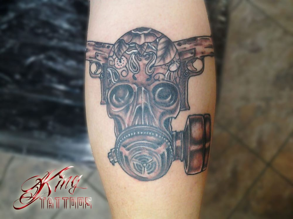 Skulls And Guns Tattoos: Gun Skull Tattoos Sacramento