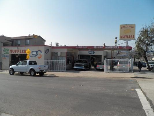 Arco Iris Muffler Shop Eagle Rock Los Angeles Ca Yelp