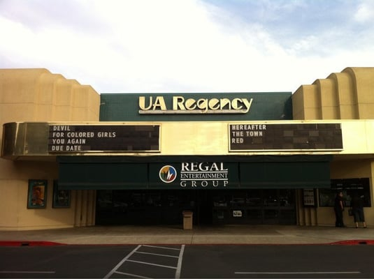 The Merced Fire department responded to what it described as a suspicious fire in the wall at the United Artists Regency 7 movie theater in Merced, Calif., on Friday, Nov. 9,