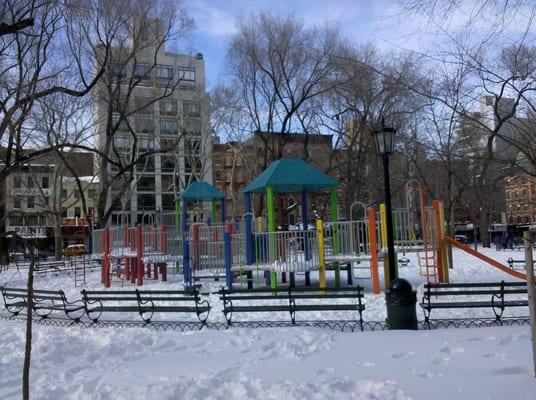 William H Seward Park Parks Lower East Side New York