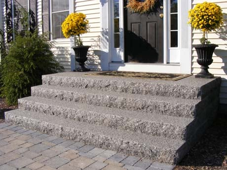 Granite Steps Are The Perfect Addition To Any House