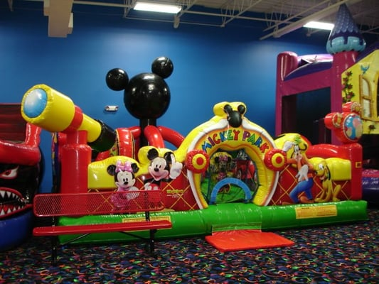 Mickey Mouse Play Park Inflatable Indoor Fun Activities