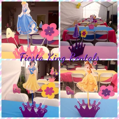 Custom Princess Center Pieces For Sale Ariel Cinderella