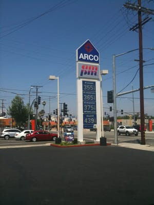 Diesel Gas Near Me >> Arco Gas Station & AM/ PM - Gas & Service Stations - San ...