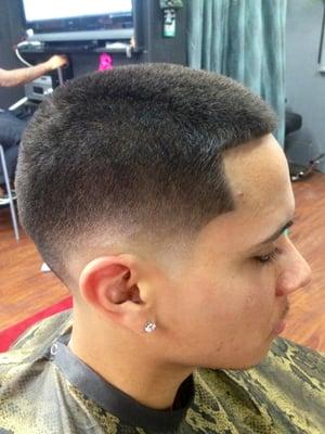 Low Skin Fade Cut by J Nice aka Jigga