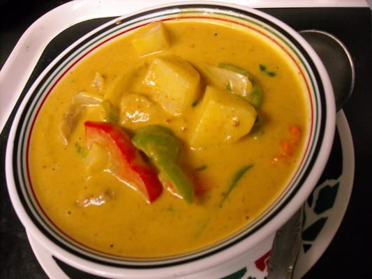 Thai chicken yellow curry | Yelp