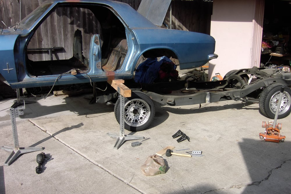 A New Chassis For A V8 Corvair Yelp