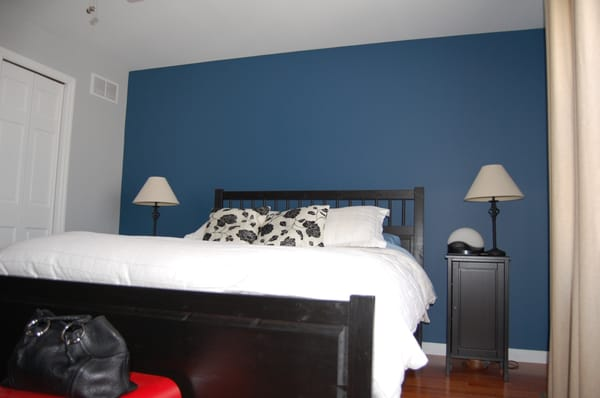 Bedroom W Accent Wall Yelp