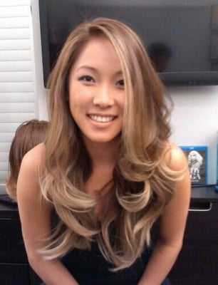 Blonde Hair On Asians 40