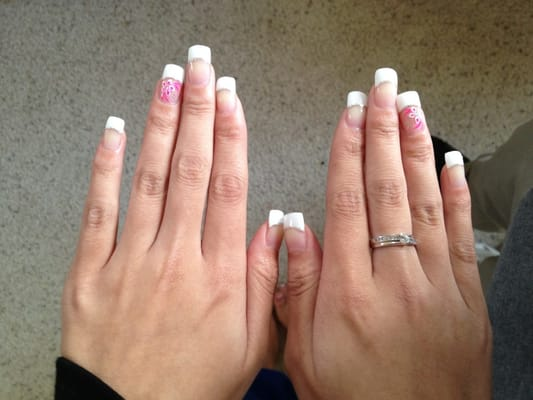 Acrylic nails! It lasted very long! I will be back | Yelp - photo#3