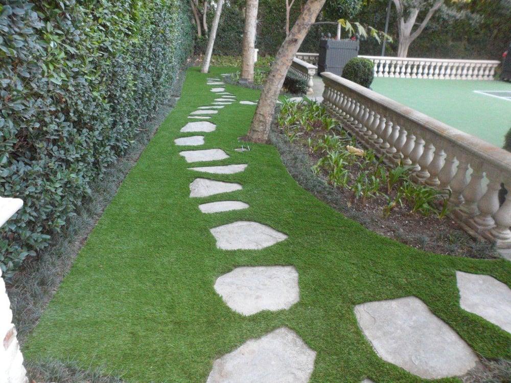 Hyundai Woodland Hills >> SYNLawn LA artificial grass install in Beverly Hills, Ca ...