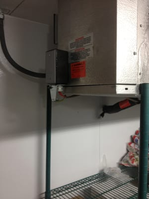 Walk In Freezer Drain Line Heater Install Yelp
