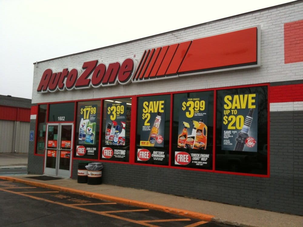 Store front of AutoZone | Yelp