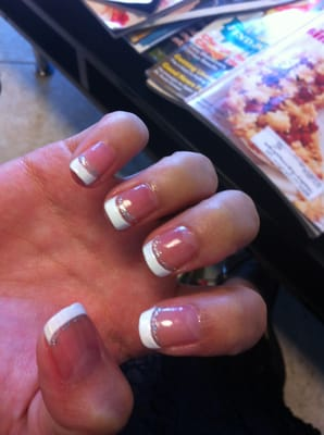 Worst Nail Job Ever Nail Art Is Off Nails Are Too Pink