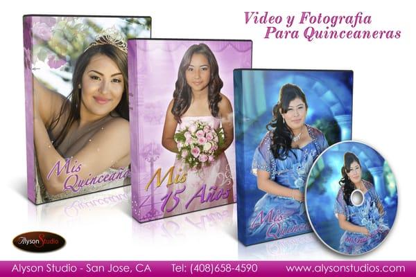 Quinceañera Videography DVD Examples